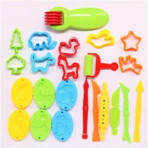 23pcs Plastic Play Dough Tools Set Toy Educational Modeling Clay Kit Toys For Children - ShopeeBazar