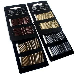 24pcs/10pc Hair Clip Ladies Hairpins Girls Hairpin Curly Wavy Grips Hairstyle - ShopeeBazar