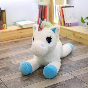 40-60cm Unicorn Stuffed Animals Plush toy High Quality Cartoon Gift For Children - ShopeeBazar