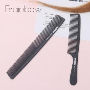 2pc Hair Comb Anti-static Carbon Hair Brush Professional Pro Salon Hair Styling - ShopeeBazar