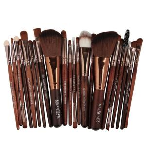 22pcs Cosmetic Makeup Brush Set Eyeshadow Foundation Professional up Brush - ShopeeBazar