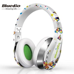 Air foldable bluetooth headphones for cell phone Fashion Gift with 3D sound surround - ShopeeBazar