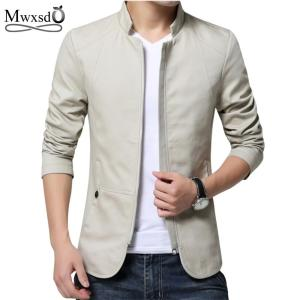 2018 men spring autumn casual jacket men's Slim fit cottoon jacket - ShopeeBazar