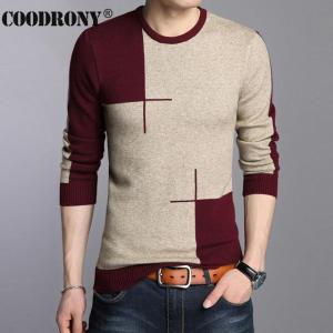 2018 Winter New Arrivals Thick Warm Sweaters O-Neck Wool Sweater Men Brand - ShopeeBazar