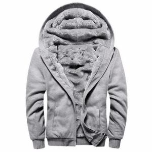 Bomber Jacket Men 2018 New Brand Winter Thick Warm Fleece Zipper - ShopeeBazar