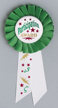 Image result for participation ribbon