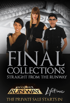 Project Runway Sale