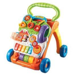 VTech Sit to Stand Learning Walker - Gifts for Babies - FantabulouslyFrugal.com 2012 Holiday Gift Guide - #ffgiftguide