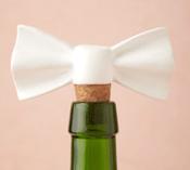 Bow Bottle Stopper - - Stocking Stuffers for Women - FantabulouslyFrugal.com 2012 Holiday Gift Guide - #giftguide #stockingstuffers