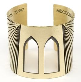 Brooklyn Bridge Cuff from Betsy & Iya