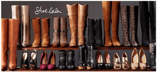 Shoe La La at Rue La La