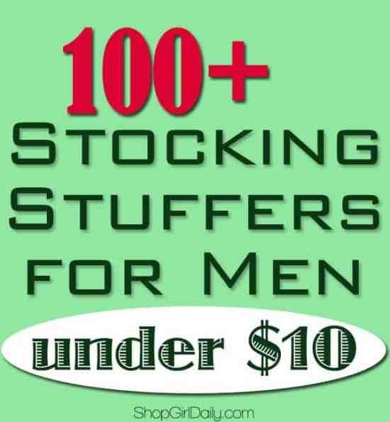 100+ Stocking Stuffers for Men Under $10 | ShopGirlDaily.com
