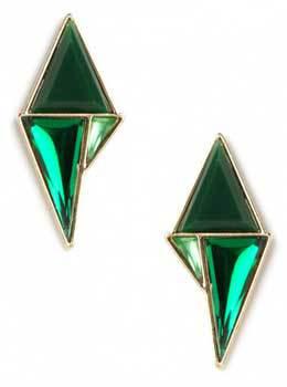BaubleBar Green Mondrian Drops