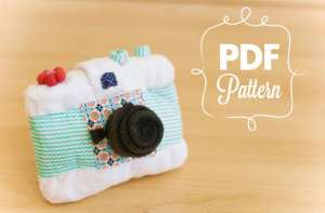 Camera Plush