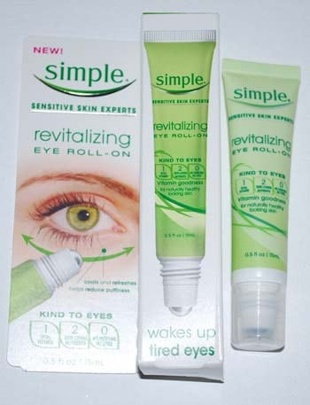 Simple Revitalizing Eye Roll-On