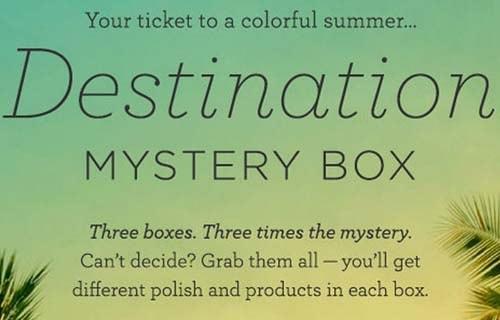Julep Destination Mystery Box