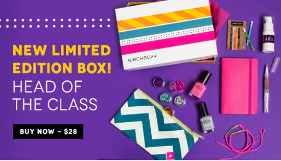 New Limited Edition Birchbox