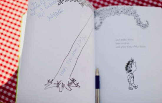 10 Creative Wedding Guest Book Ideas: Ask guests to sign your favorite book