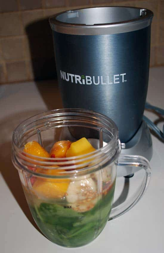 Nutribullet review - making smoothies couldn't be easier.
