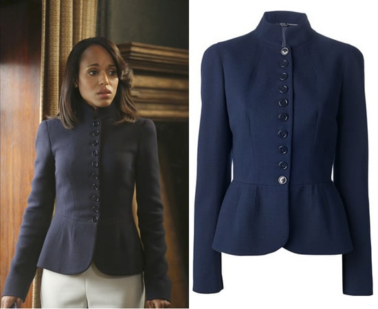 Scandal Style: Olivia Pope's Military Jacket is Alexander McQueen