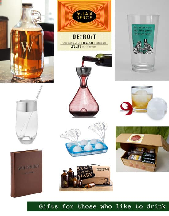 2013 Holiday Gift Guide: Bar Gifts