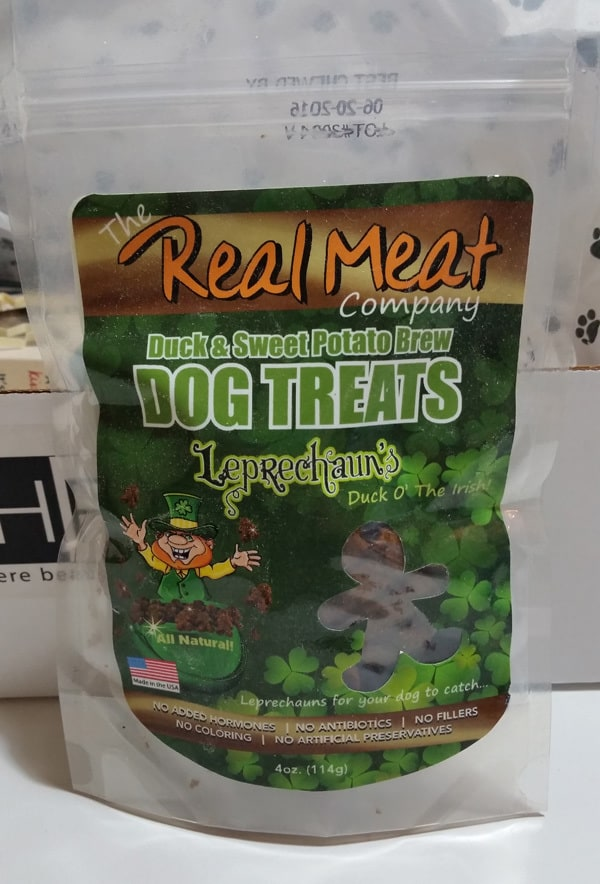 The Real Meat Company Duck and Sweet Potato Dog Treats