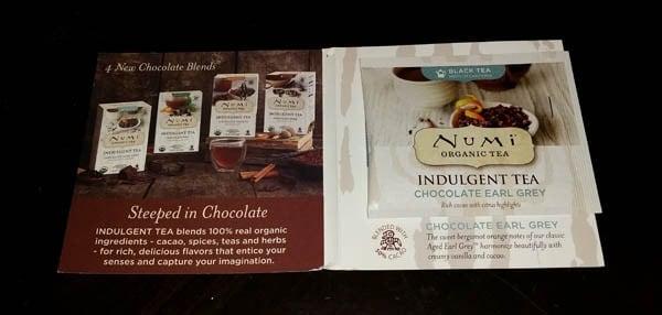 Numi Tea Indulgent Chocolate Tea Sampler