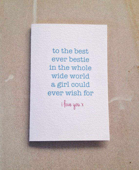 14 Valentines Day Cards for Your BFF Shop Girl Daily – Valentines Cards for Best Friends