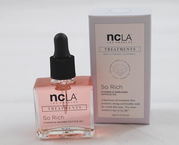 NCLA So Rich Vitamin-E Enriched Cuticle Oil