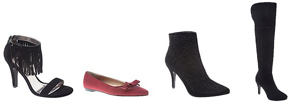 Wide Width Shoes at Lane Bryant