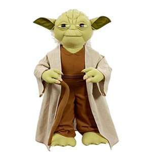 Life Size Talking Plush Yoga | Star Wars Gift Ideas | ShopGirlDaily.com's 2015 Holiday Gift Guide