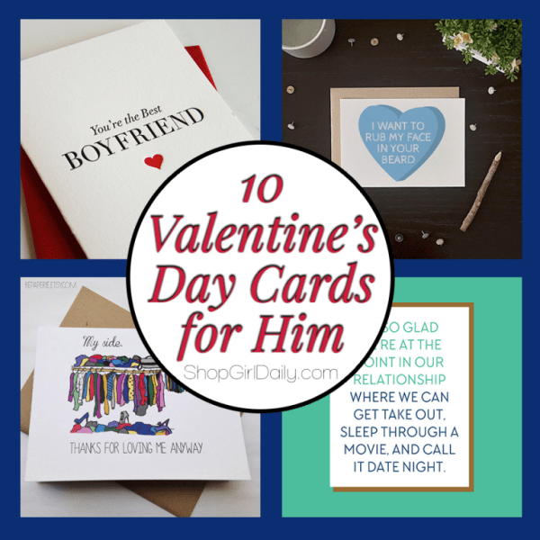 Valentines Day Cards for Him Shop Girl Daily – Valentines Day Cards for Men