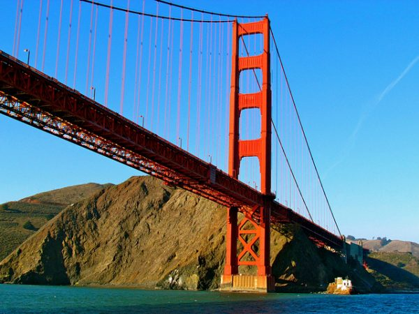 Golden Gate Bridge photo by Jeff Gunn