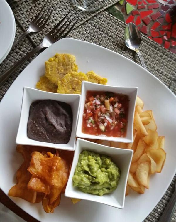 Costa Rican Nachos at El Silencio Lodge & Spa