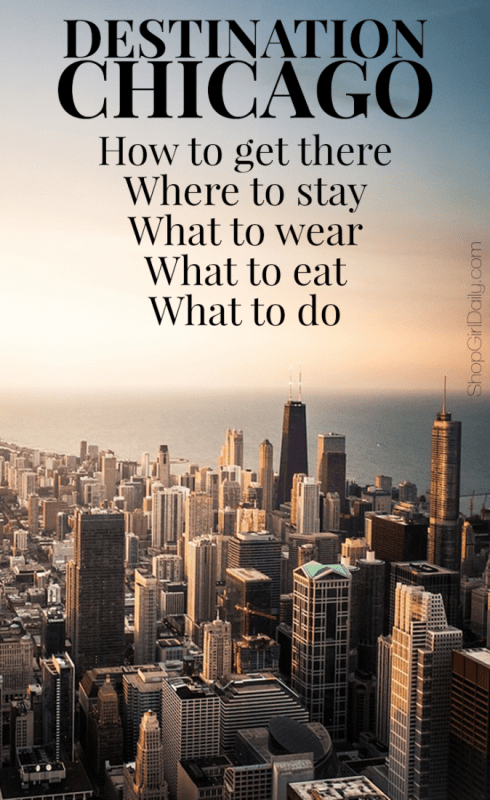 A Weekend in Chicago: What to do, where to stay, what to eat, and more | ShopGirlDaily.com