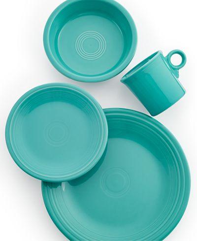 Fiestaware Four Piece Set