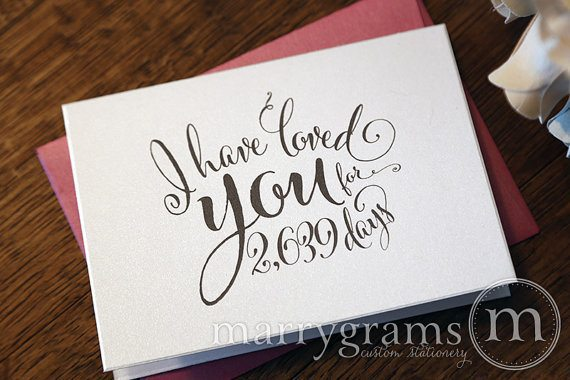 Loved you for card
