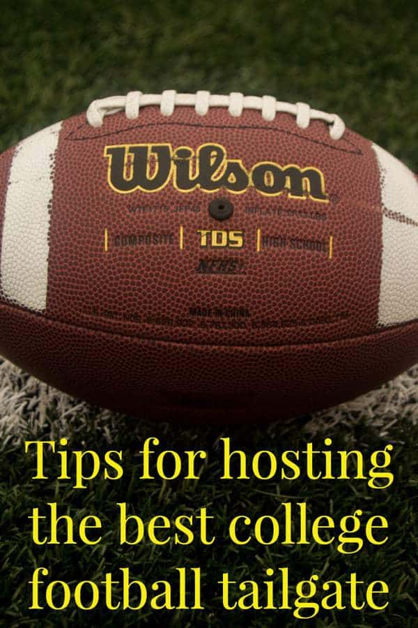 Tips for hosting a college football tailgate | ShopGirlDaily.com