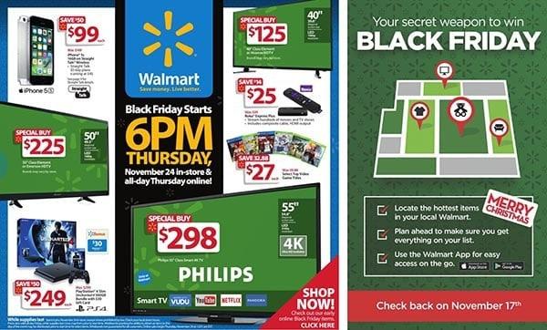 Walmart Black Friday Ad 2016
