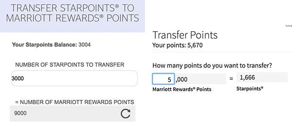 Marriott Point Transfer