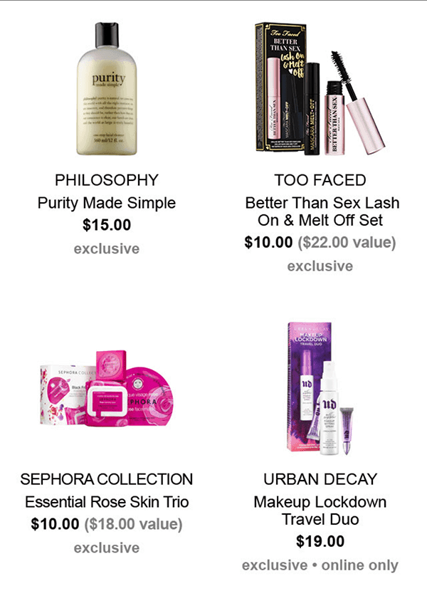 Sephora Black Friday 2016