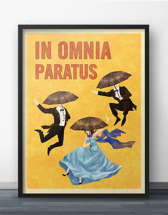 In Omnia Paratus Poster
