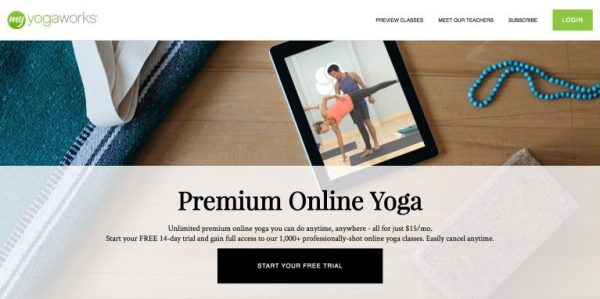 MyYogaWorks: Online yoga subscription