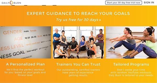 Daily Burn: Online Fitness Program