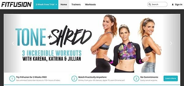 Fitfusion: Best Online Fitness Program