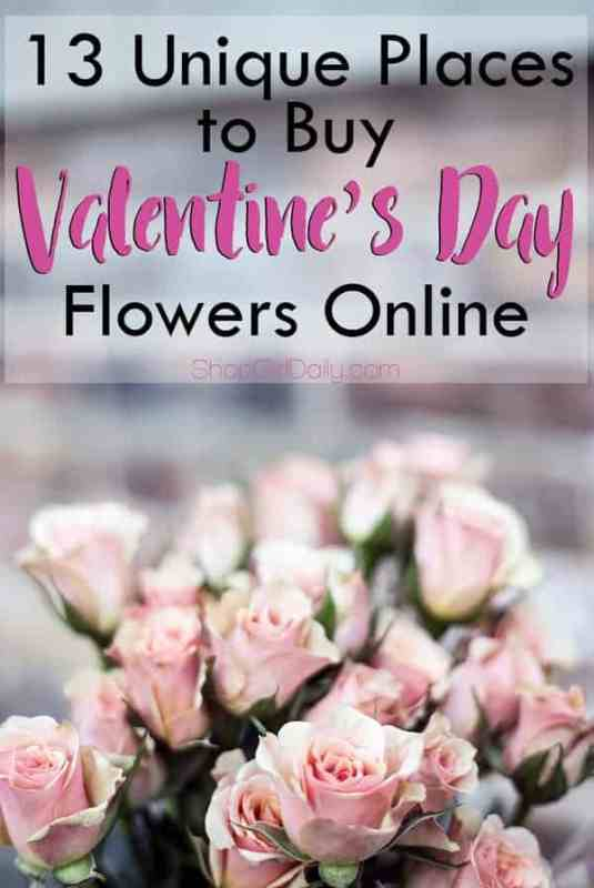 13 Unique Places to Buy Valentine's Day Flowers Online | ShopGirlDaily.com