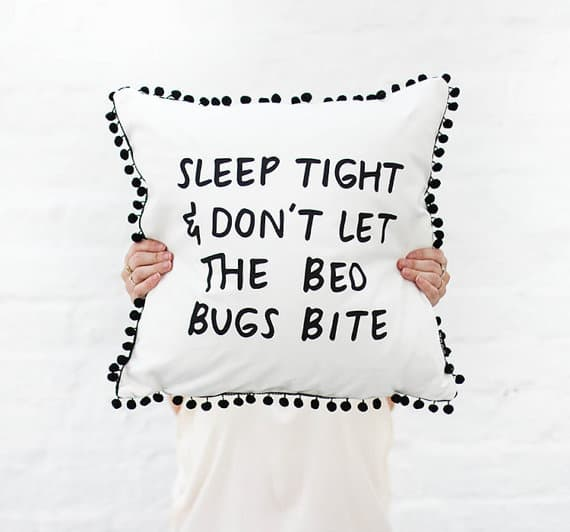 Sleep Tight Cushion Cover
