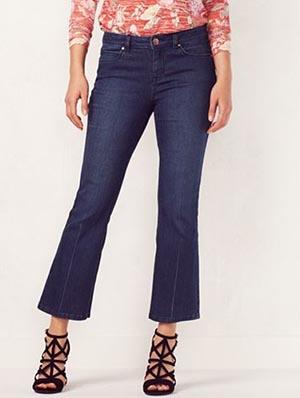 Bootcut Kick Crop Jeans