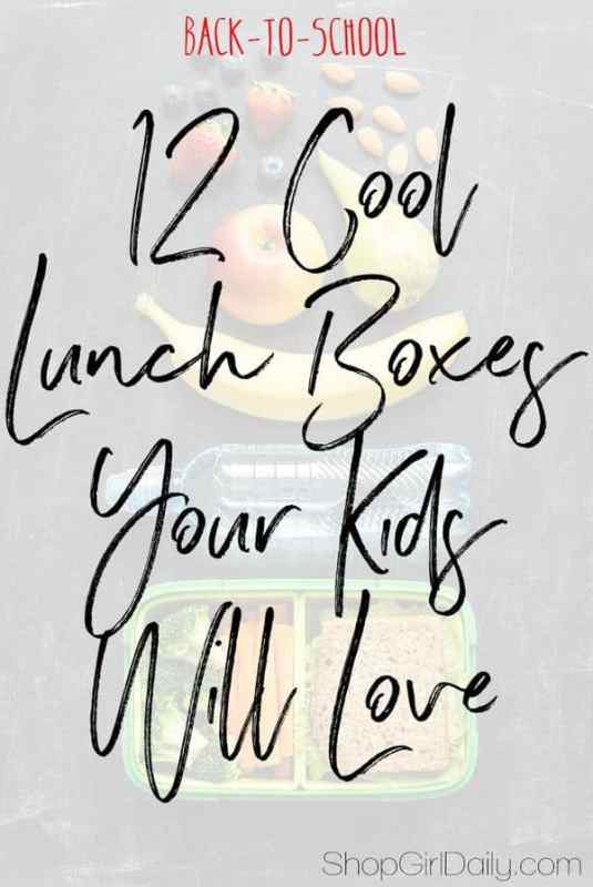 12 Cool Lunch Boxes for Kids - ShopGirlDaily.com