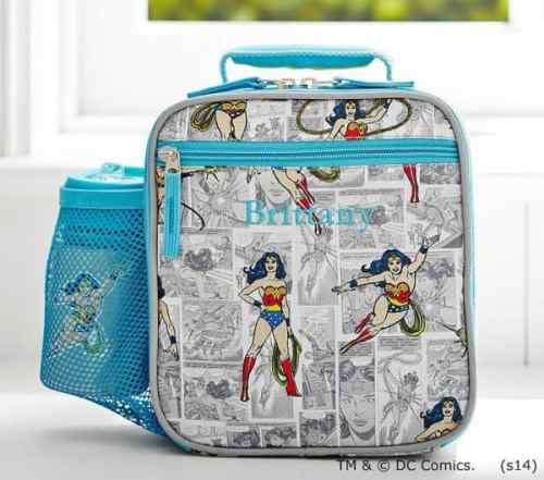 Wonder Woman Lunch Box for Kids